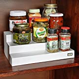 #4: Go Hooked Kitchen Cupboard Space Organizer 3 Step (set of 2)