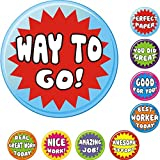 234 Motivation Stickers - Awesome for Teacher Parents Children