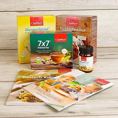 StarterSet Basische Ernährung von Jentschura – mit Rezeptbuch und Infos