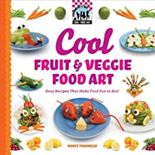 Cool Fruit & Veggie Food Art: Easy Recipes That Make Food Fun to Eat! (Checkerboard How-To Library: Cool Food Art (Library)) by Nancy Tuminelly (2010-09-01)
