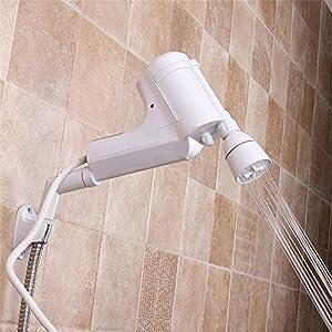 Calentador de agua eléctrico instantáneo tanque de baño de agua caliente grifo de la ducha de calefacción