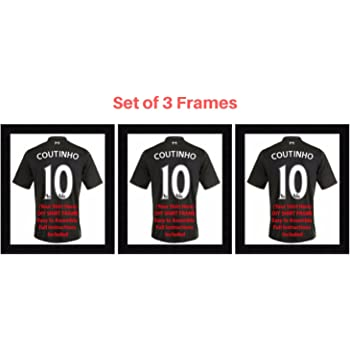 Kwik Picture Framing Ltd 3 x Frame for Football Rugby and Cricket ...
