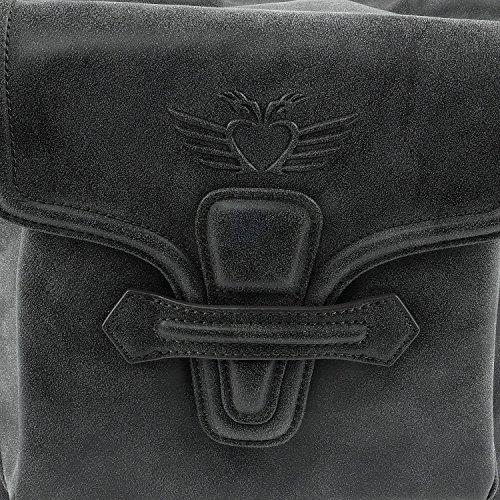 Alta Calidad Barata Fritzi aus Preußen Meja Vintage Shopper Borsa tote 45 cm Onyx Falso En Venta RhgxaxaAJb