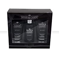 Bryan & Candy New York Men's Kit Lemon and Thyme (Shower Gel, Face Wash, After Shave Cream)