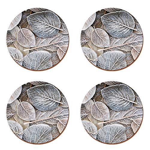 CREATIVE TOPS Platzsets mit Kork-Rückseite, Bedruckt, rund, Placemats