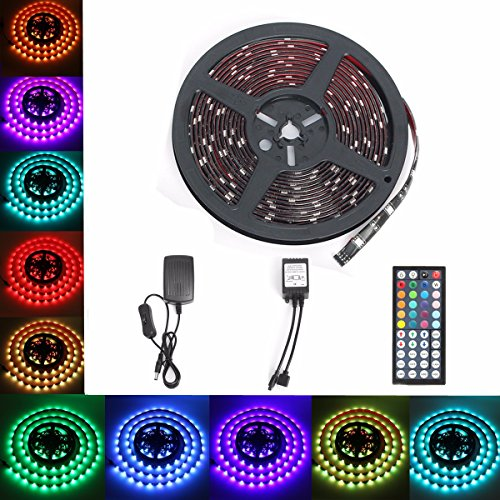 Striscia luci glisteny 5m strip led flessibile 150led for Luci led per acquario