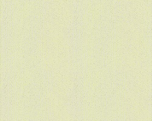 A.S. Création Vliestapete mit starkem Glitterauftrag Bling Bling Tapete Strukturtapete 10,05 m x 0,53 m grün Made in Germany 304932 30493-2