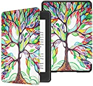 Fintie Slimshell Case for All-new Kindle Paperwhite (10th Generation, 2018 Release) - Premium Lightweight PU L