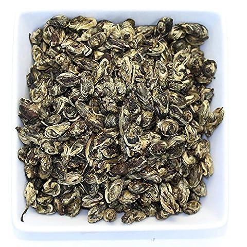 Tealyra - Jasmine Phoenix Dragon Pearls - Best Chinese Jasmine Green Tea - Loose Leaf tea - Organically Grown - 110g