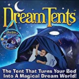 Lovne Kids Play Tent Children Bed Tent Playhouse for Boys Girls Fun Plays Christmas & Birthday Gifts (Space Adventure)