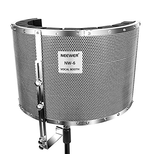 Neewer® Microphone Aluminium Isolation Shield