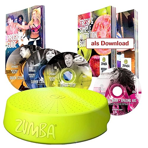 M MEDIASHOP Zumba Fitness Tanz System mit Zumba Rizer und 4 CDs und vielen Extras