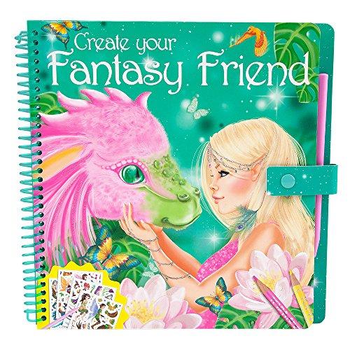 Preisvergleich Produktbild Fantasy Model 7847 - Create your Fantasy Friend - Malbuch mit Rubbelbildern