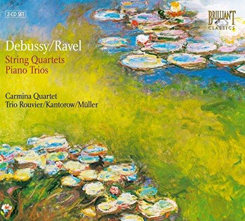 Debussy - String Quartet; Piano Trio; Ravel - String Quartet; Piano Trio Test