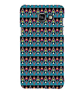 Colourful Pattern Hard Polycarbonate Designer Back Case Cover for Samsung Galaxy A3 (2016) :: Samsung Galaxy A3 2016 Duos :: Samsung Galaxy A3 2016 A310F A310M A310Y :: Samsung Galaxy A3 A310 2016 Edition