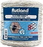 Rutland 19-185R Fil synthétique Maxi Electro-Wire 500 m Blanc