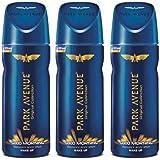 Park Avenue GOOD MORNING BODY SPRAY WAKE UP PACK OF 150MLX3 Deodorant Spray - For Men & Women (450 ml, Pack of 3)
