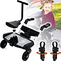 Marchepied et siège supplémentaire pour poussette ou landau – Convient pour enfants d'un poids jusqu'à 20 kg