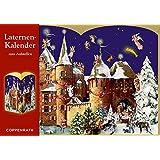 Laternen-Aufstellkalender - Weihnacht auf der Burg