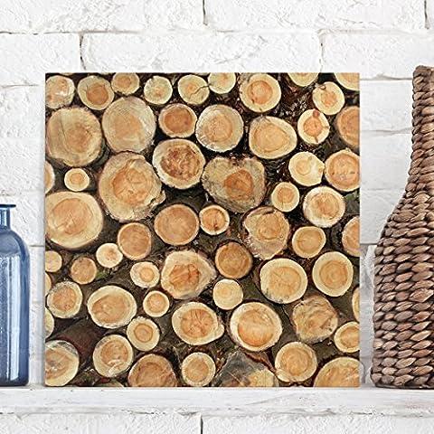 Bilderwelten Impression sur toile - No.YK18 Trunks - Carré 1:1,