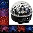 Dizaul Mini LED RGB 6 LED Disco DJ Stage Lighting LED RGB Crystal Magic Ball Effect Light DMX Light KTV Party