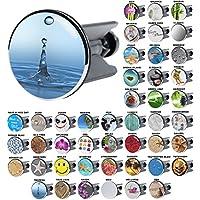 Sanilo W497398, Waschbeckenstöpsel Tropfen, viele schöne Waschbeckenstöpsel zur Auswahl, hochwertige Qualität (Heimwerken)