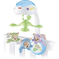 Fisher-Price CDN41 Butterfly Dreams 3-in-1 Projection Mobile, New-Born Baby Light Projector Cot Mobile, Suitable from…