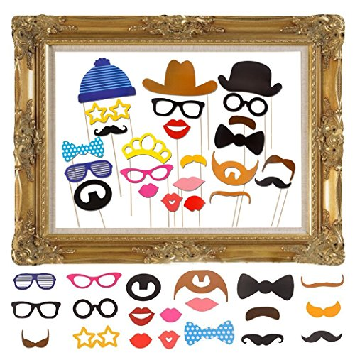 JZK 25 x Photo Booth photocall Photo Booth con Accesorios Decoracion con...