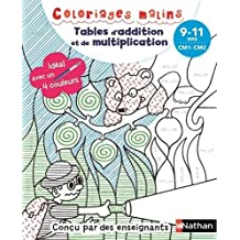 Coloriages malins BIC - Tables d'addition et de multiplication magiques - CM1/CM2, 9/11 ans