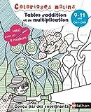 Telecharger Livres Coloriages malins BIC Tables d addition et de multiplication magiques CM1 CM2 9 11 ans (PDF,EPUB,MOBI) gratuits en Francaise