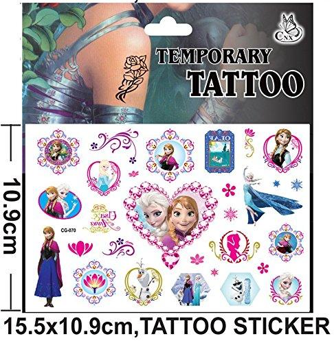 cg-070Flash Tatoo temporäre Aufkleber mit Cartoon Zeichen Frozen Aufkleber Folie Aufkleber (Flash-tattoo-maker)