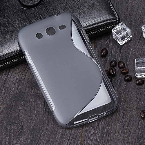 Tarkan Designer Soft Slim Protective Best Rubber Bumper Back Case Cover for Samsung Galaxy Grand Max [Grey] - CLEARANCE SALE@99  available at amazon for Rs.99