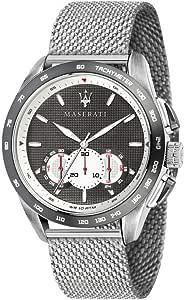 Orologio da uomo, Collezione Traguardo, con movimento al quarzo e funzione cronografo, in acciaio - R8873612008
