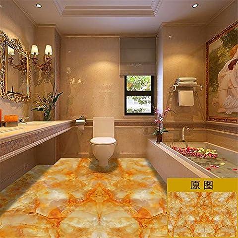 XMJR nachahmungen von marmor, fliesen, boden schleudern, badewanne, boden, bad, bad, wasserdicht, aufkleber, desktop - aufkleber, spezifikation 100 *100cm
