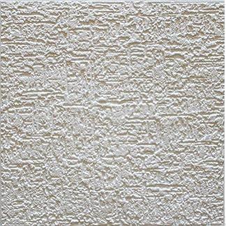 Terra – Placas de techo (72 unidades, poliestireno, 18 m²), color blanco
