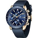 orologio sportivo movimento al quarzo di affari di modo BENYAR Cronografo da uomo regalo speciale uomini impermeabile e anti-