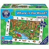 Orchard Toys - Jeu de société - Les animaux de la forêt - Where In the Wood? - Langue : anglais