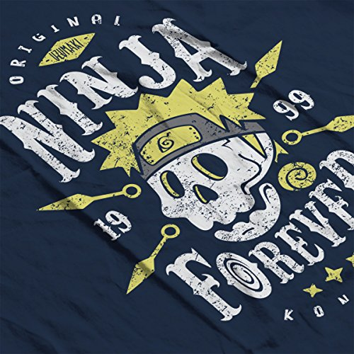 Ninja Forever Naruto Men's Vest Navy Blue