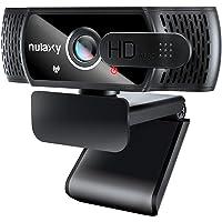 NULAXY C900 Webcam FHD 1080P mit Mikrofon und Datenschutz Abdeckung, Plug & Play, Laptop PC Webkamera für Video…