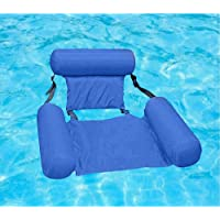 Akszone Inflatable Swimming Floating Chair Pool Float Lounge,Adults Water Chair Lounge, Portable Swimming Pools Hammock…