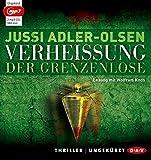 Verheißung. Der Grenzenlose: Der sechste Fall für Carl Mørck. Ungekürzte Lesung mit Wolfram Koch (2 mp3-CDs) - Jussi Adler-Olsen