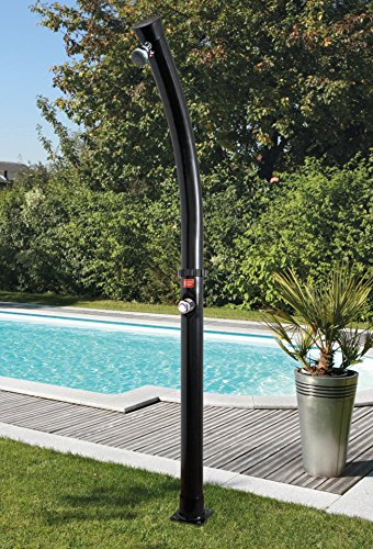 Steinbach Solardusche Speedshower Magic am Pool