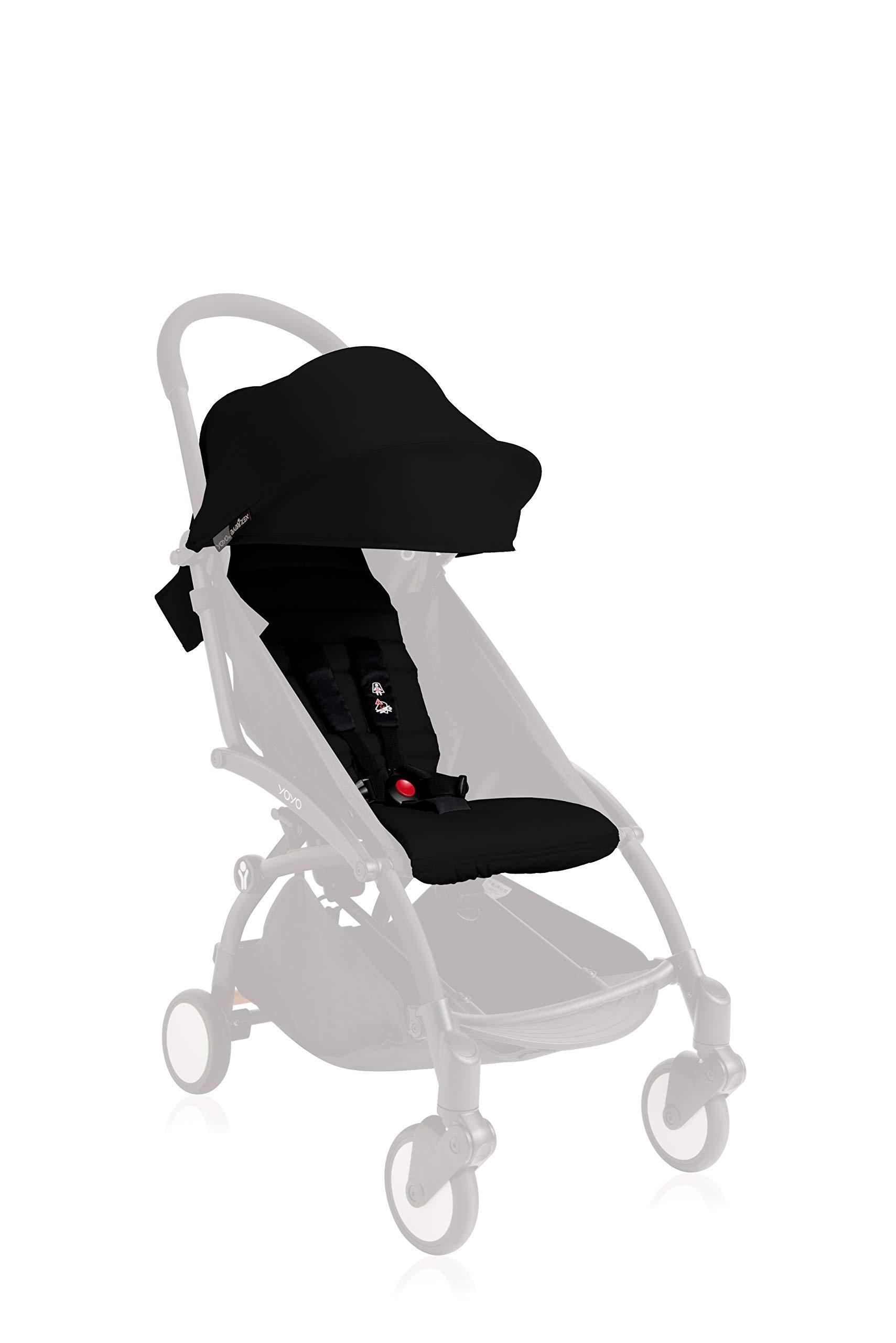 Babyzen Yoyo+ Pack 6+ Black BabyZEN BabyZen YOYO 6+ Color Pack - Black by Baby Zen One Size 1