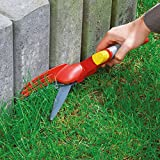 WOLF-Garten RIGC Professional Single Hand Grass Shears, Red, 39.2x2.47x2.5 cm