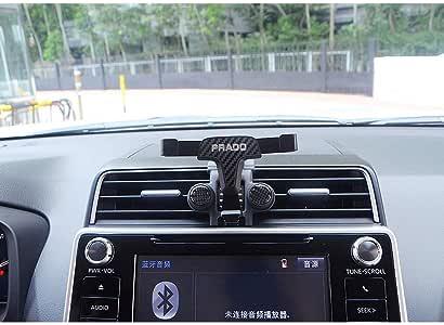 pour Prado FJ150 Accessoires de voiture YIWANG Support de t/él/éphone portable en fibre de carbone pour Land Cruiser 2016-2019