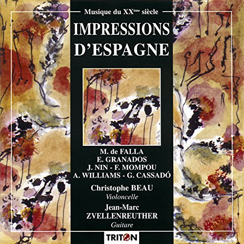 Trois Arabesques d'après Antoni Gaudi pour violoncelle et guitare: II. Colegio Teresiano