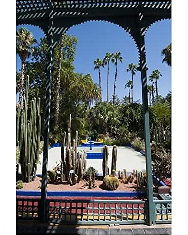Photographic Print of Majorelle Gardens, Marrakech, Morocco, North Africa, Africa