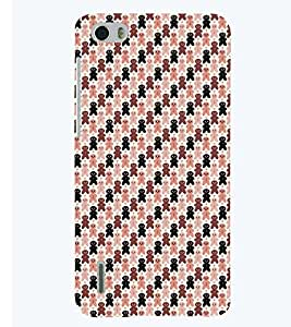 PRINTSWAG TEDDY PATTERN Designer Back Cover Case for HUAWEI HONOR 6