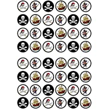 obleas de gran calidad realizados en papel de arroz 48 unidades. sabor vainilla Adornos decorativos comestibles para tartas dise/ño de Spiderman