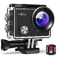 APEMAN Camera Sport A77, caméra 4K 20MP Webcam WiFi Sports pour Vlog Underwater Cam étanche 30M avec télécommande